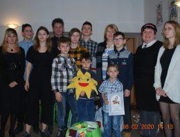 Spotkanie noworoczne dla małżeństw prowadzących Rodzinne Domy Dziecka