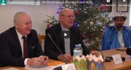 Konferencja prasowa ws. VII Olsztyńskiego Orszaku Trzech Króli